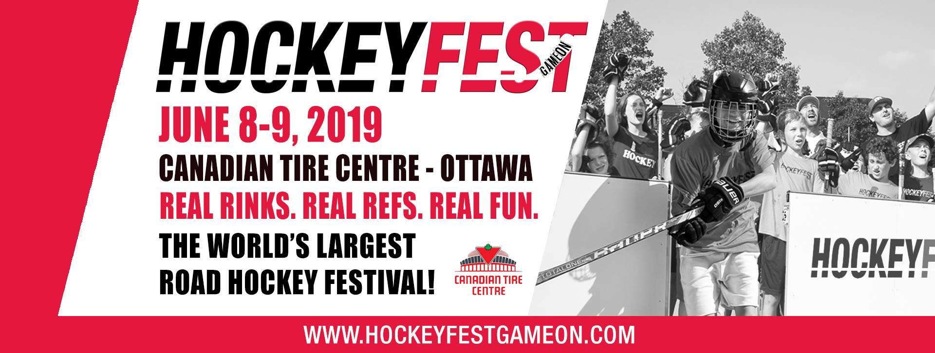 Hockeyfest Game On Covert Ottawa Guy