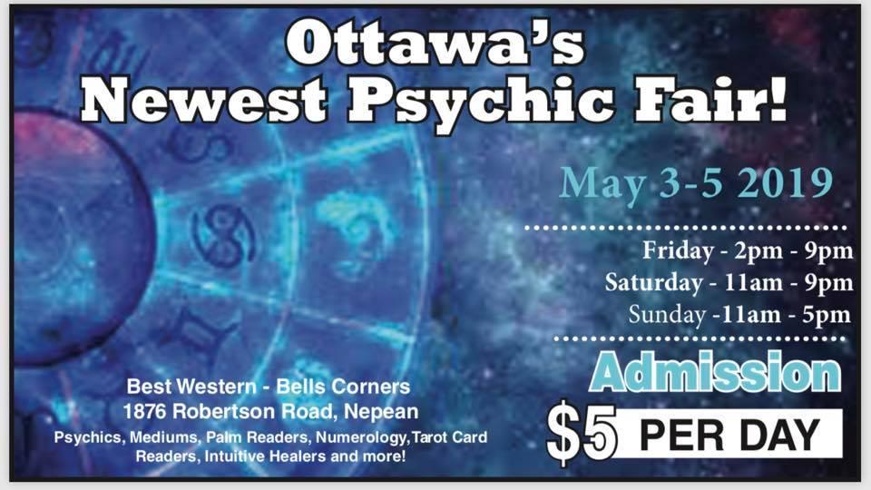 Ottawa Psychic Fair – Covert Ottawa Guy
