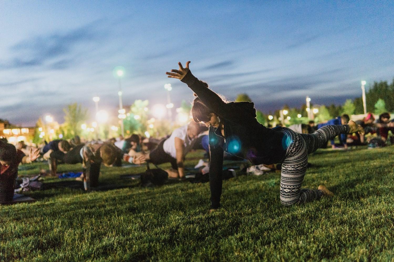 Full Moon Yoga at Lansdowne – Covert Ottawa Guy